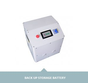 back up storage battery